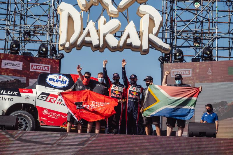 Second Overall as TOYOTA GAZOO Racing Fights to the End of Dakar 2021