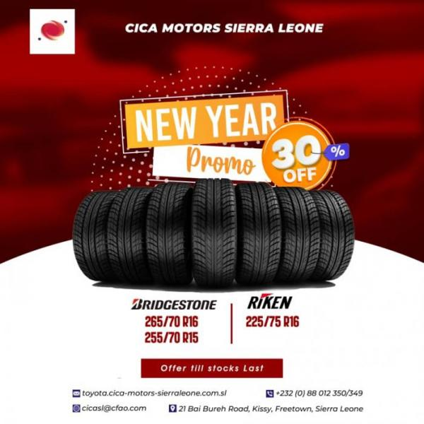 New Year Tyre Promo